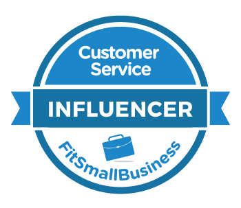 Customer Service Influencer Award, FitSmallBusiness