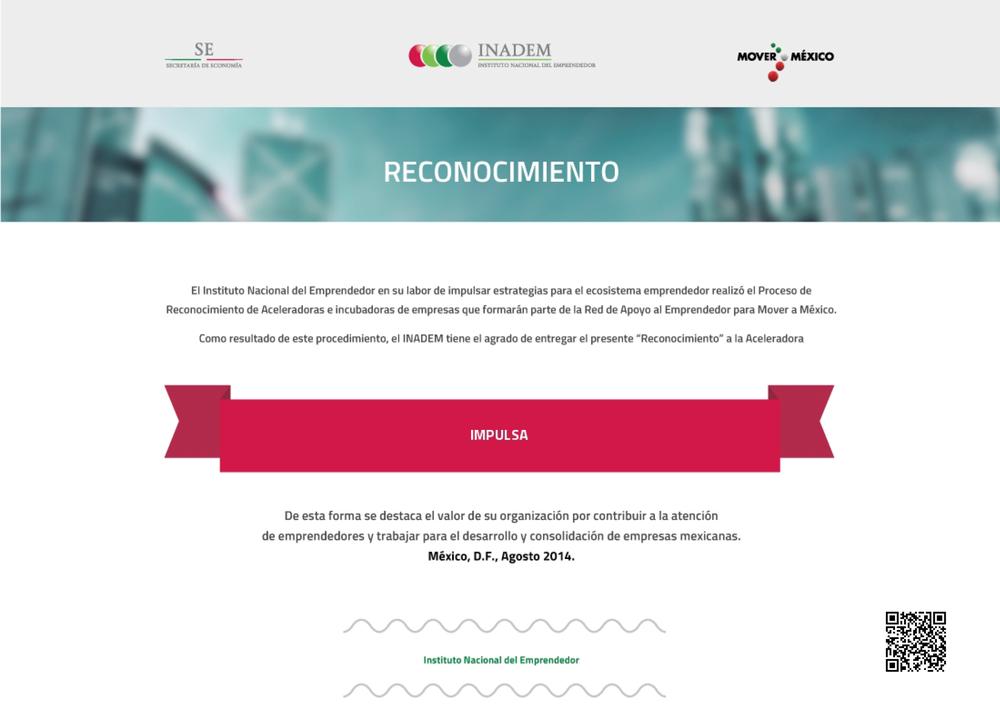 Copy of Reconocimiento 2014