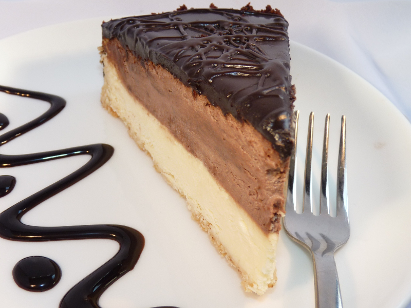 Boston Chocolate Cheesecake