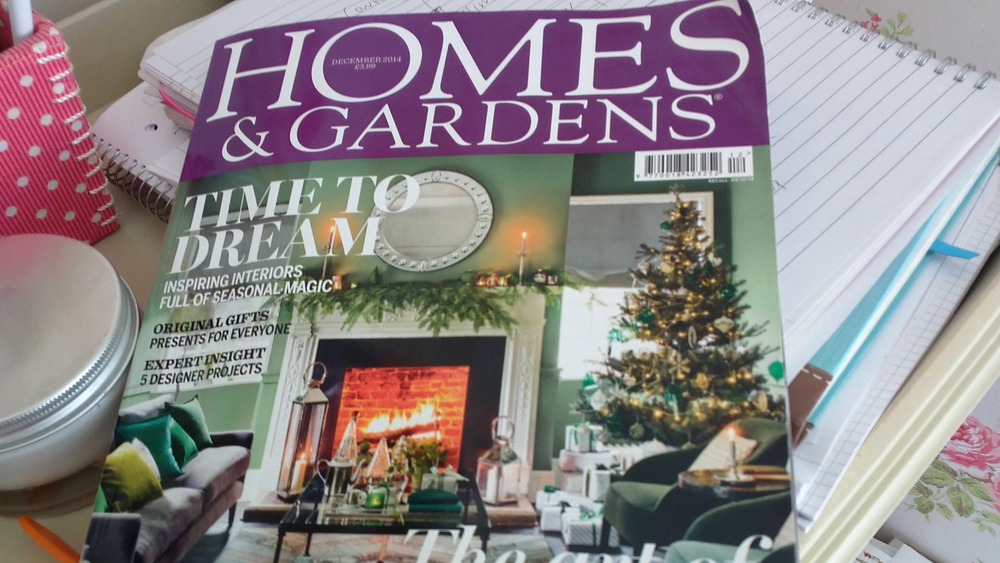 See our work for Sophie Peckett Design on page 79 of the December issue of Homes & Gardens