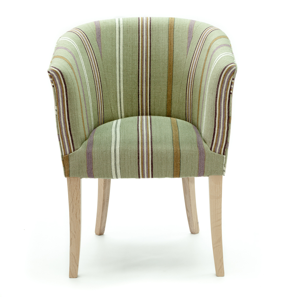 Elegantly Shaped And Extremely Comfortable, Traditionally Upholstered Tub  Chairs Made To Order In Any Fabric And Legs Made In Any Available Timber.