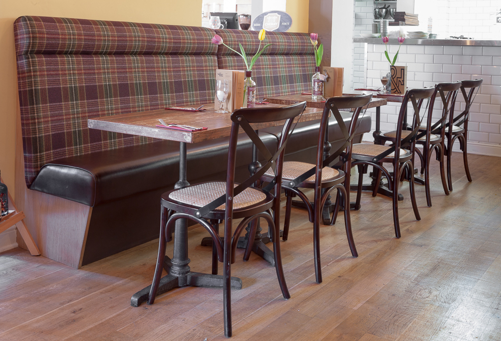 Charmant Lincolnu0027s TapHouse U0026 Kitchen Upholstered Bench Seating In A Range Of  Assorted Wools From Abraham Moon U0026 Sons.