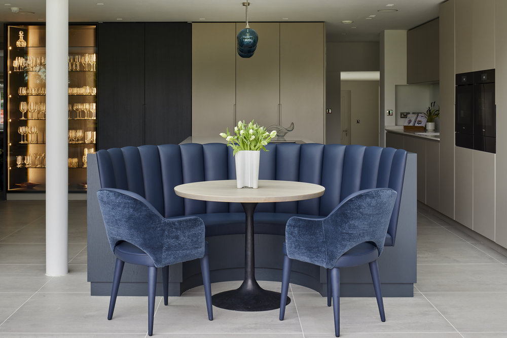 Bespoke seating project for Bridget Reading Interior Design