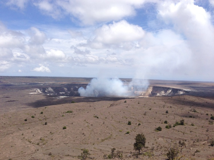 oh look! a volcano! {Kilauea to be exact}