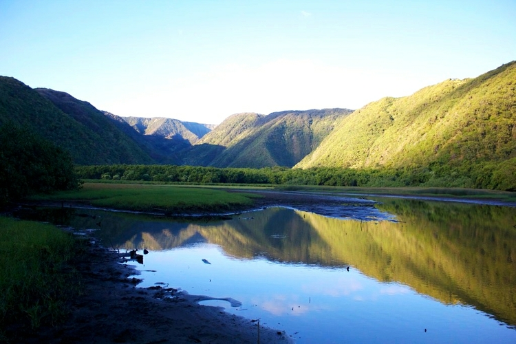 Polulu Valley at Sunrise