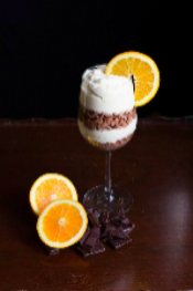 Natrel Lactose Free Chocolate Orange Mousse Parfaits