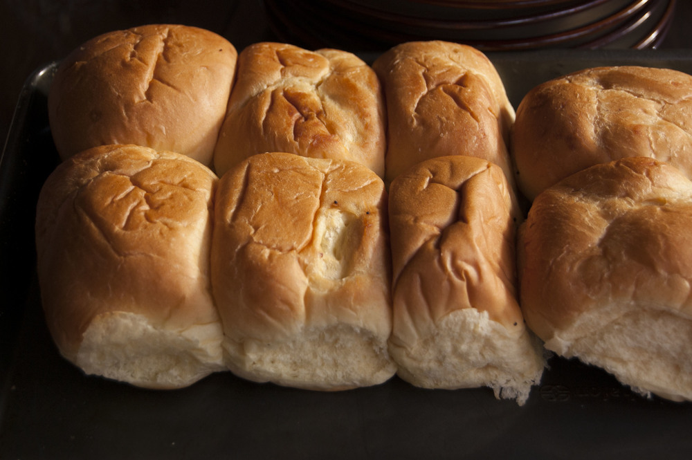 dinner rolls for days