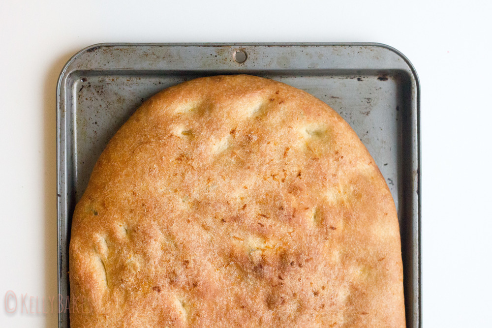Rosemary Thyme Focaccia