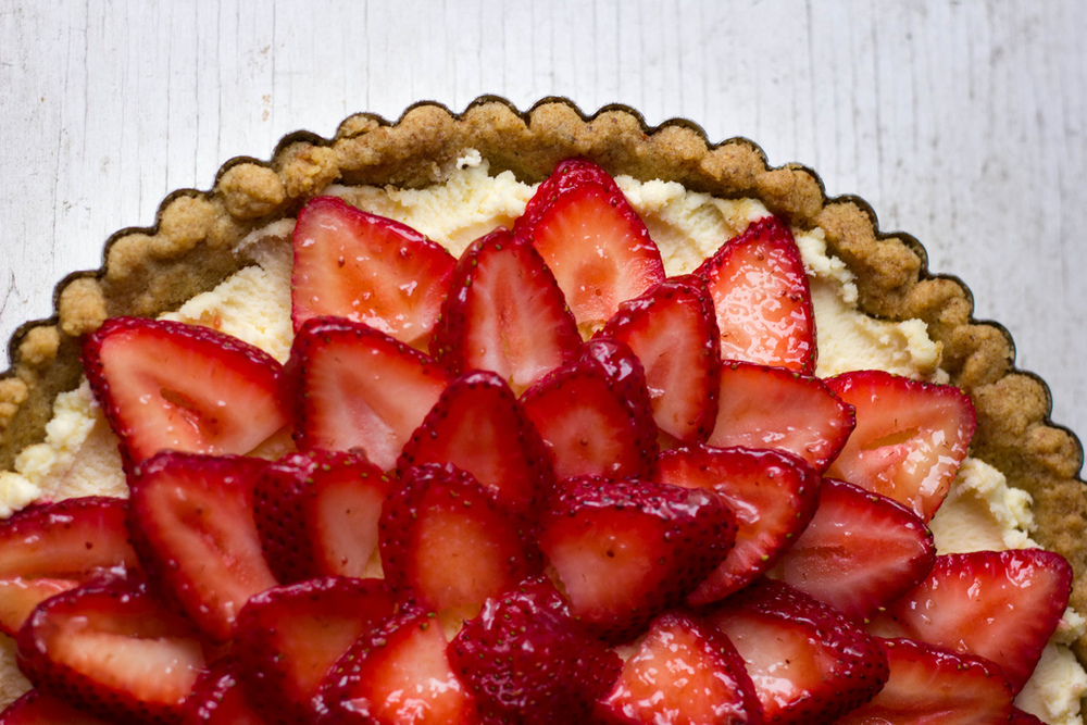Gluten-free Strawberry Mascarpone Tart