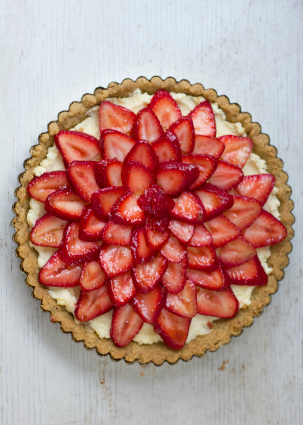 Gluten-free Strawberry Mascarpone Tart