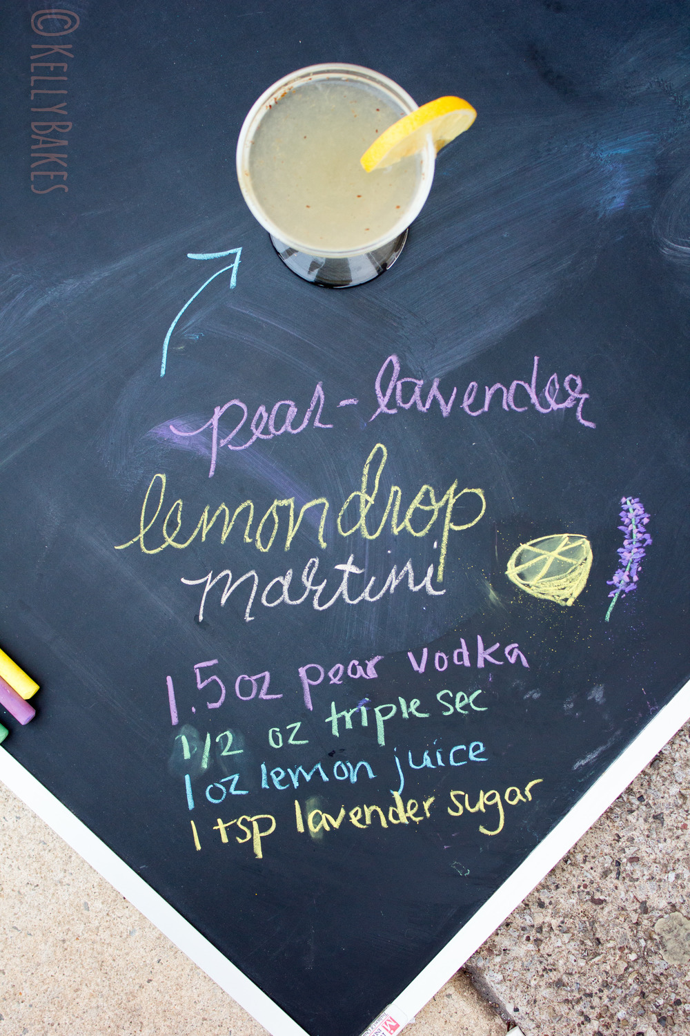 pear lavender lemon drop martini recipe