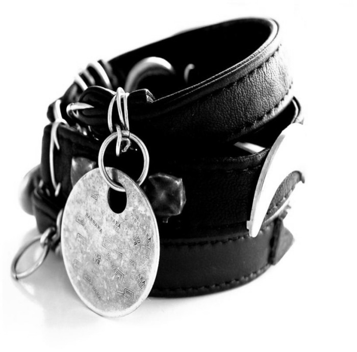 bc classic leather bracelets.jpg _Black_and_Gold_Jewelry _Handmade_by_Barbara_.jpeg