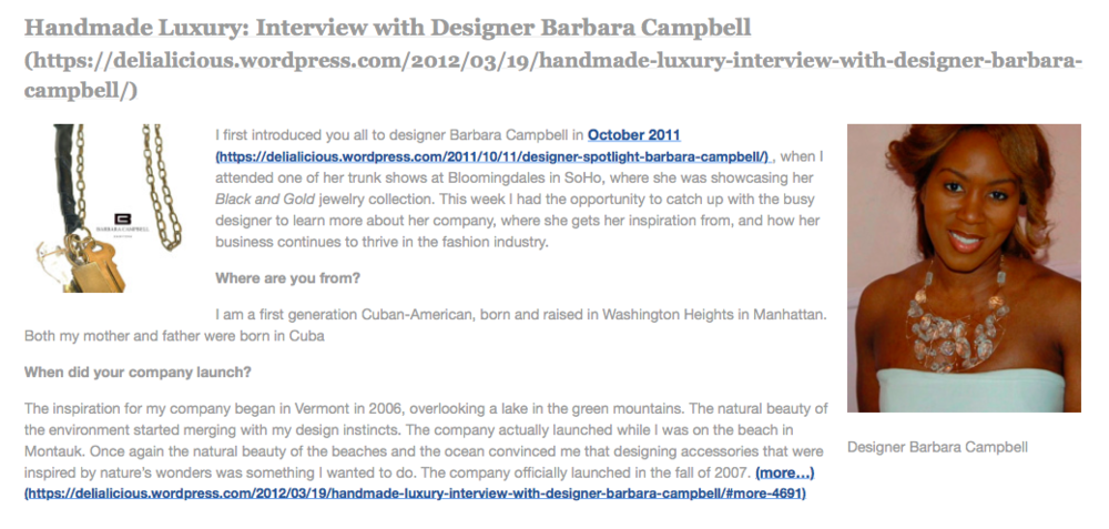 Barbara Campbell Jewelry at Bloomingdales Soho https://delialicious.wordpress.com/2012/03/19/handmade-luxury-interview-with-designer-barbara-campbell/