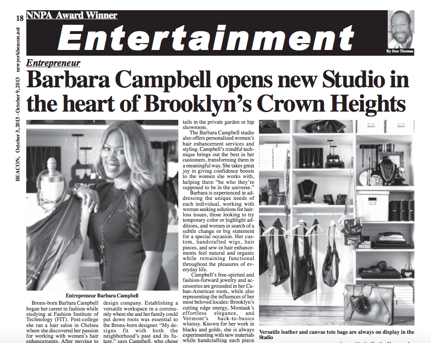 Barbara Campbell Accessories Design Studio Brooklyn Boutique http://www.newyorkbeacon.net/files/be2040s.pdf