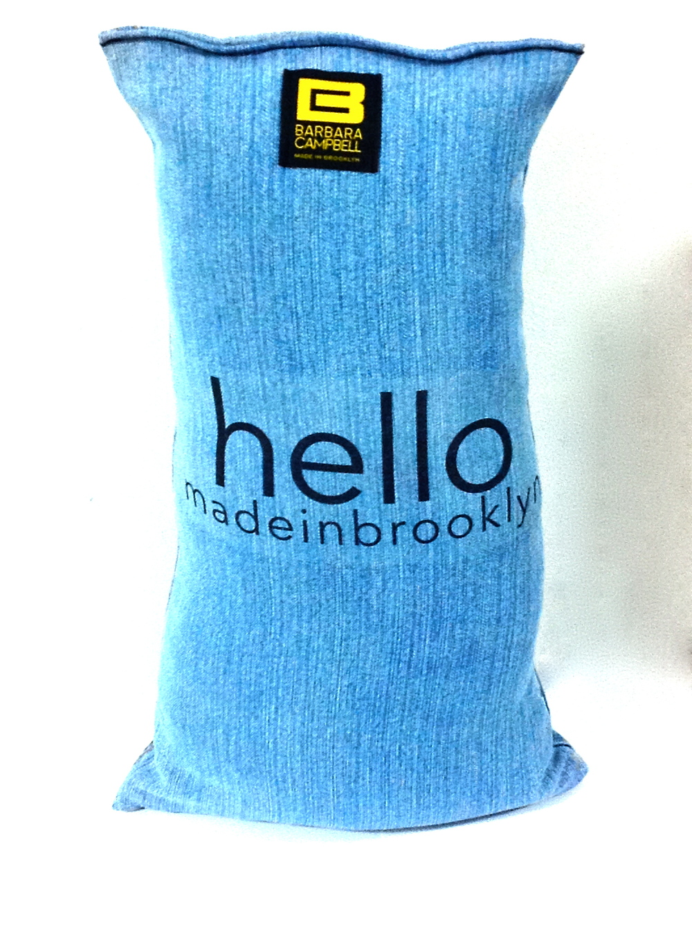 Barbara Campbell Accessories LLC ™ : Manufactures © hellomadeinbrooklyn ™ Products  hello made in brooklyn ™ Pillow: handbags fashion jewelry hair accessories: handmade denim pillow products