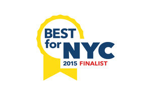 We've Been Recognized as a Finalist in Best for NYC! Barbara Campbell Accessories LLC Brooklyn Company