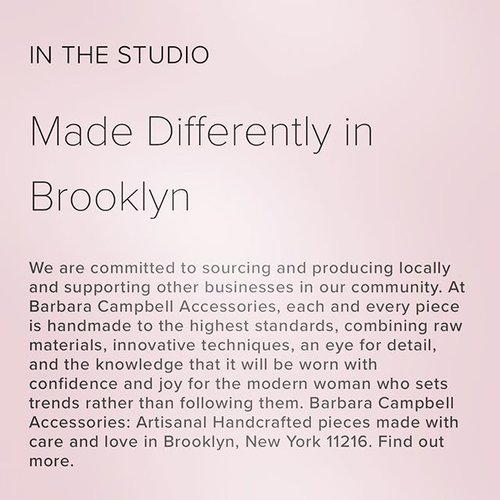(C)2016 IN THE STUDIO MADE DIFFERENTLY IN BROOKLYN BARBARA CAMPBELL ACCESSORIES HANDMADE IN BROOKLYN NEW YORK 11216.jpeg