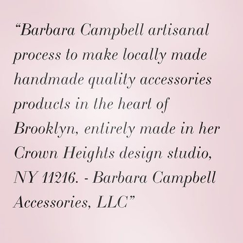 BARBARA CAMPBELL ACCESSORIES PROCEESS MADE LOCALLY HANDMADE BROOKLYN PRODUCTS MADE WITH LOVE IN NEW YORK, NY FASHION T-SHIRT CLOTH HANDBAGS BAGS HAIR DESIGNS THE BROOKLYN CURL .jpeg