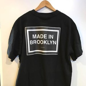 e3a440192 BARBARA CAMPBELL T-SHIRTS: MADE IN BROOKLYN Logo -Women's and Mens Cotton  Black ...