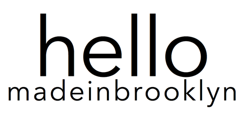 NEW BEAUTY FASHION HOME BRAND BY HELLO MADE IN BROOKLYN PRODUCTS