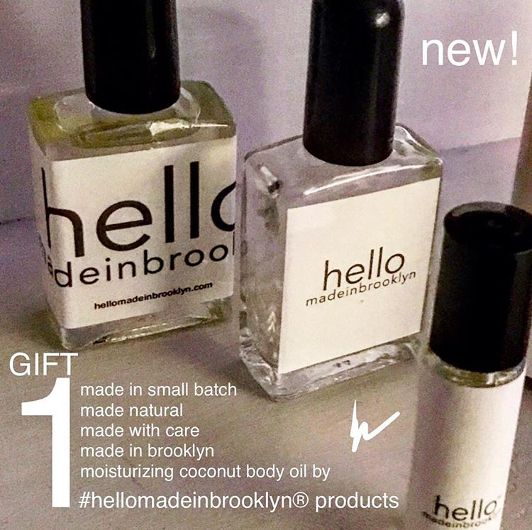 hello made in brooklyn body oil™ moisturizing beauty fragrance featuring (coconut oil blend w:natural fragrances) product from hellomadeinbrooklyn (r) 2017 gift.jpg