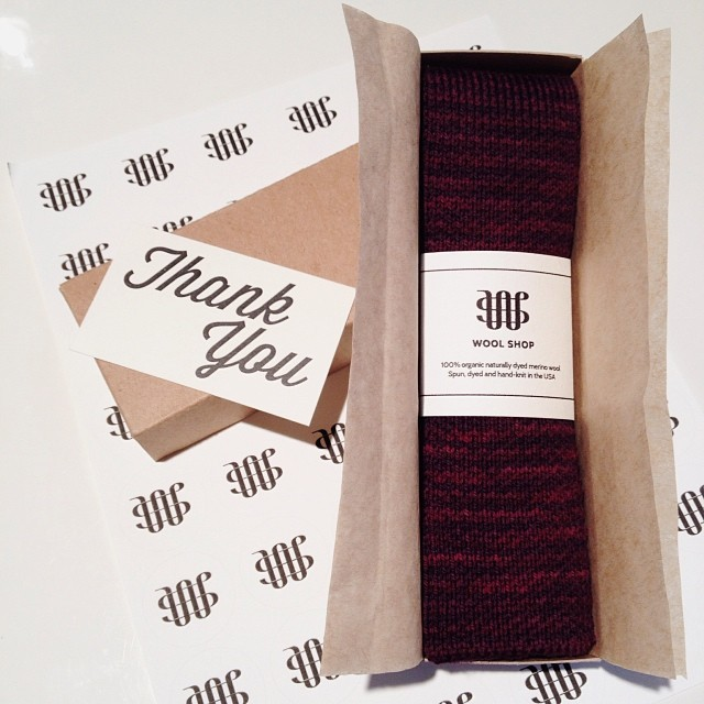 Shipping out a cochineal tie today!