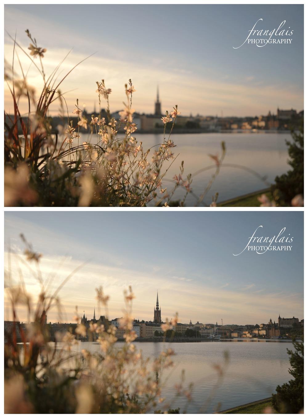 Stockholm at dawn.