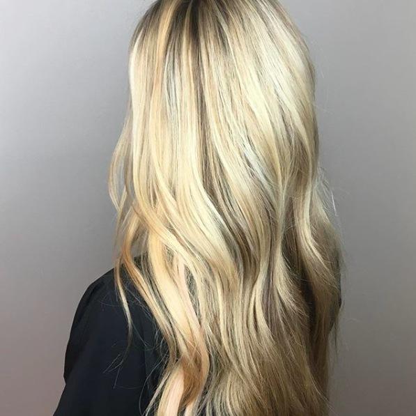 Blonde Love! 💛 Color, cut & style by Jennifer Gillis. #H2OSalonNS #Blonde
