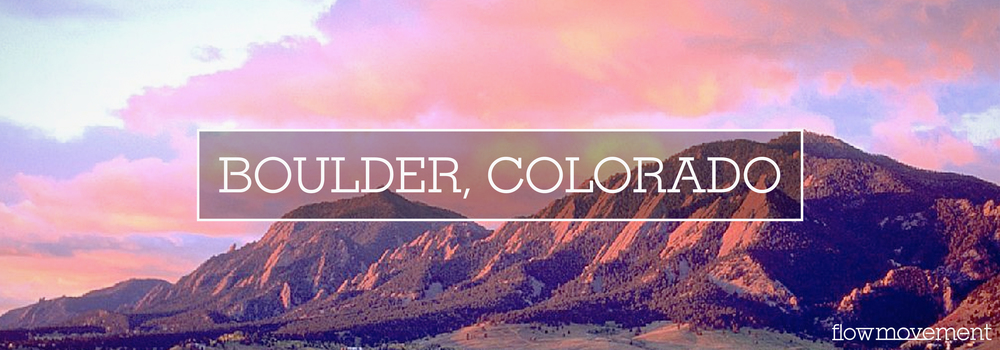 Flow Movement Loves Boulder Colorado