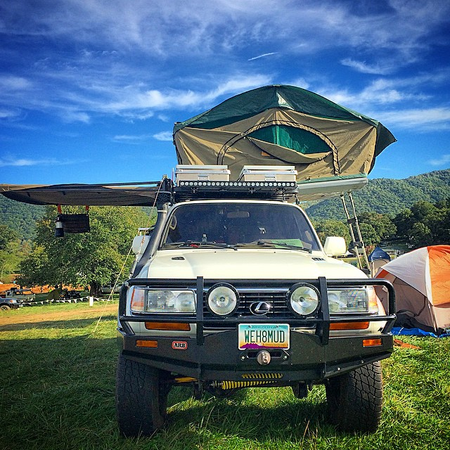 Our 1997 LX450 at Overland Expo East 2014