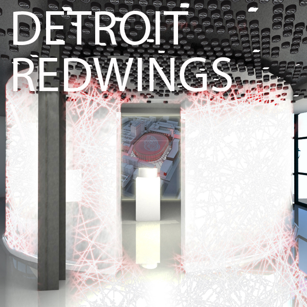 Detroit Red Wings preview center by Jennifer Carpenter Architect