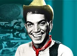 Cantinflas' iconic image...