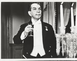 Cantinflas toasting to the graduates...