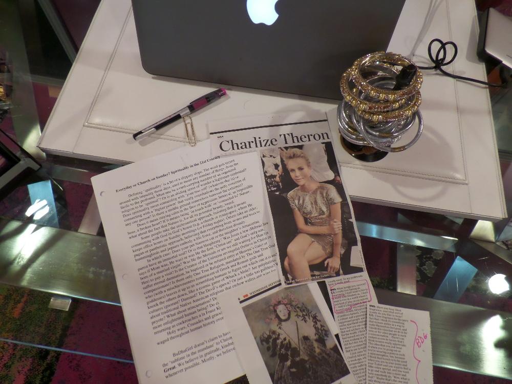 My desk.