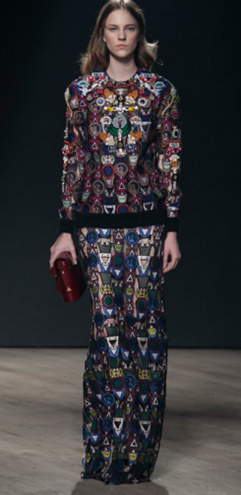 Mary Katrantzou's amazing work.