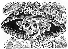 The famous image of the Catrina