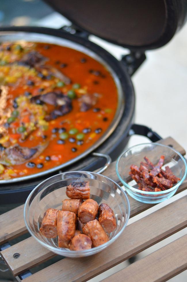 Budhagirl, jessica entertains, paella