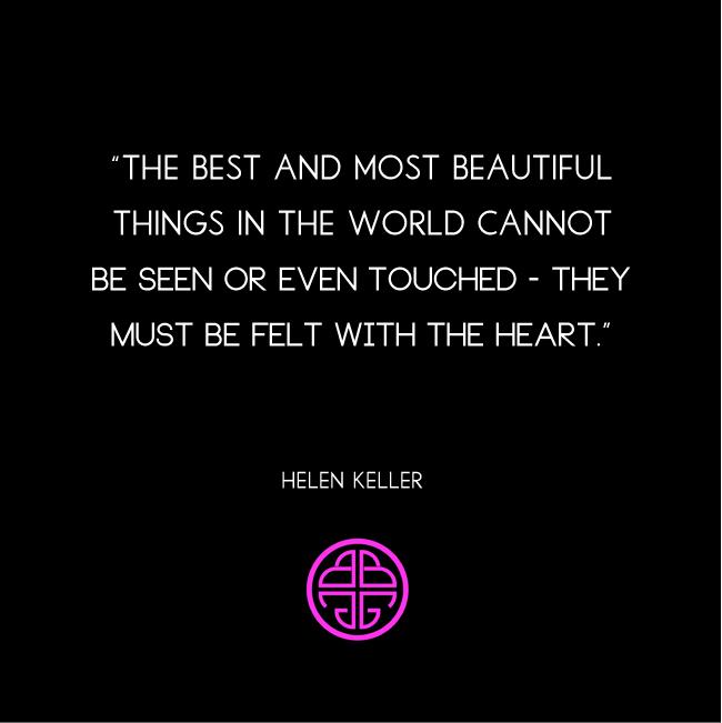Budhagirl, Hellen Keller