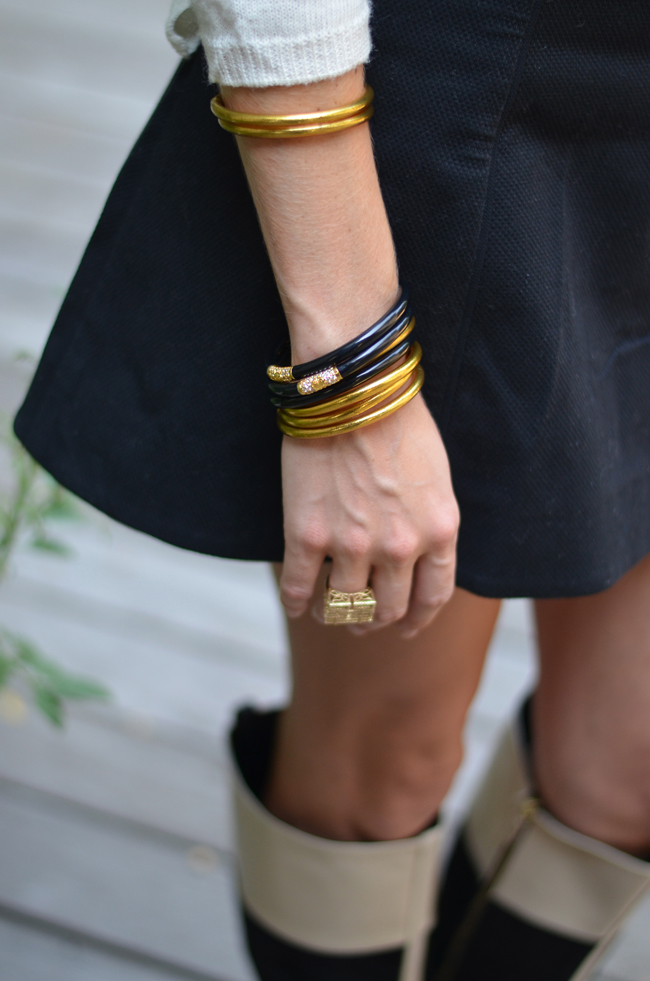 BuDhaGirl, Black All Weather Bangles