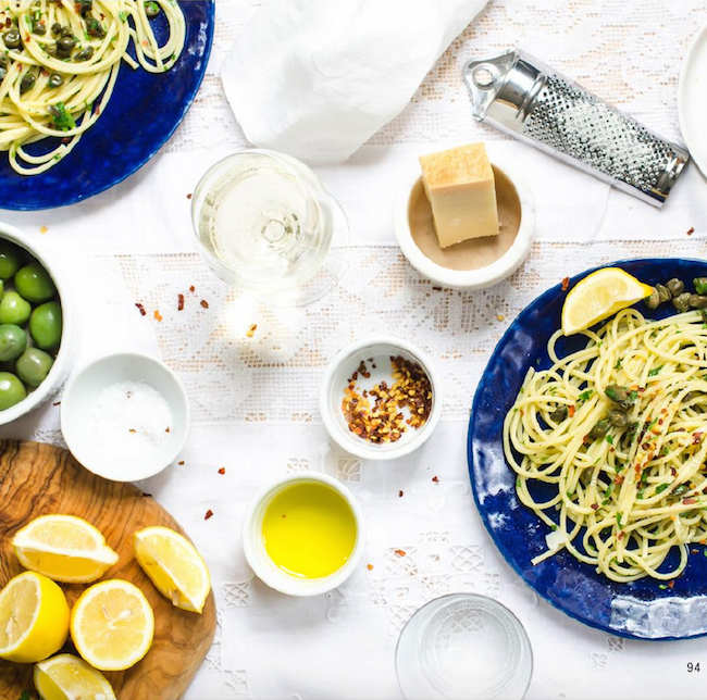 How to make  a lemonny pasta .