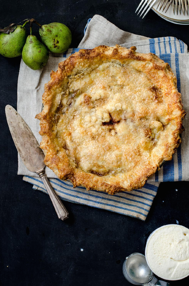 Another amazing recipe (brown buttered pear pie)