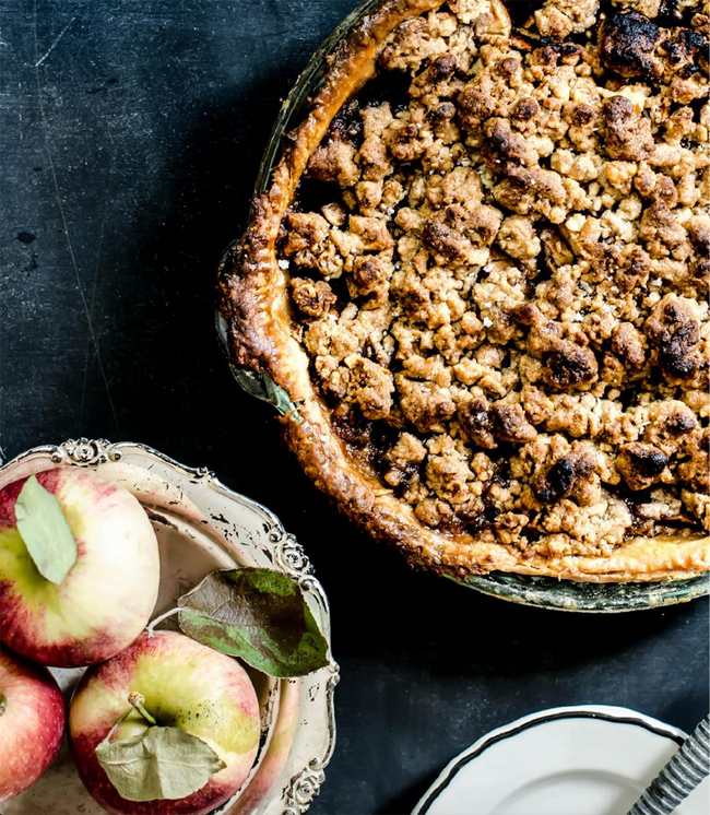 How to make  a delicious apple tart .