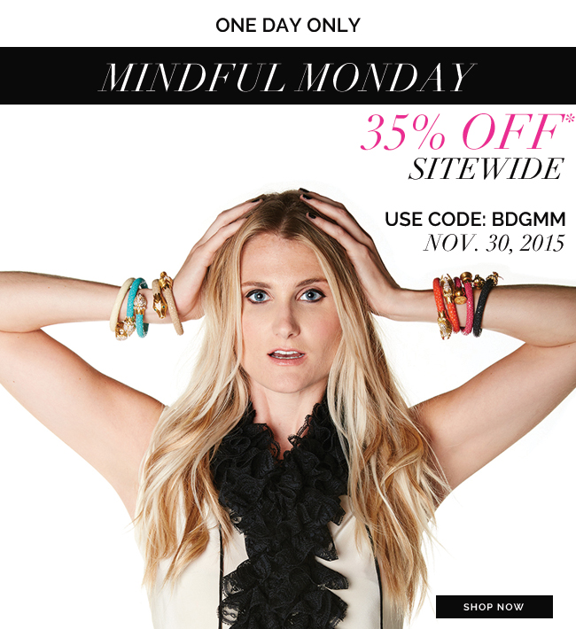 Cyber Monday, BuDhaGirl, Mindful Monday