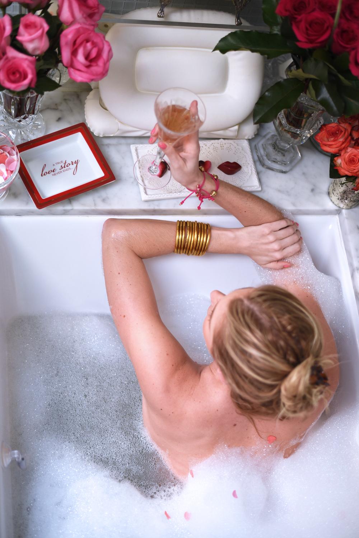 BuDhaGirl, all weather bangles, valentine's, bath, pamper