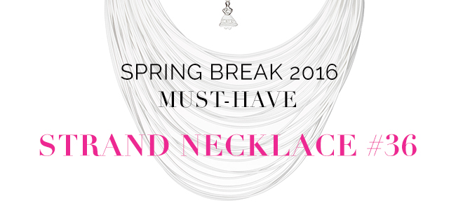 BuDhaGirl Strand Necklace #36 Spring Break