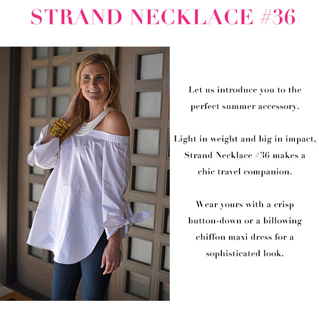 Shop Strand Necklace #36