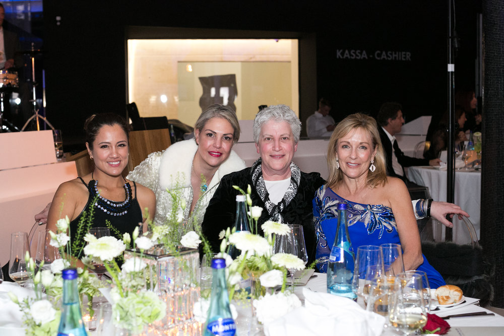 Claudia Aguirre, Jessica Jesse, Nancy Davis, Susie Ellis