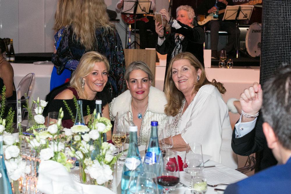 Nadja Swarovski, Jessica Jesse, Sue Hmansworth