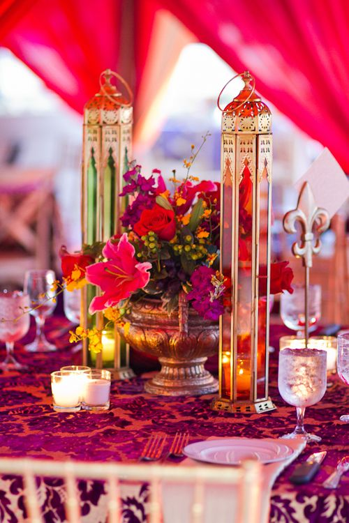 An ornate Indian-inspired setting