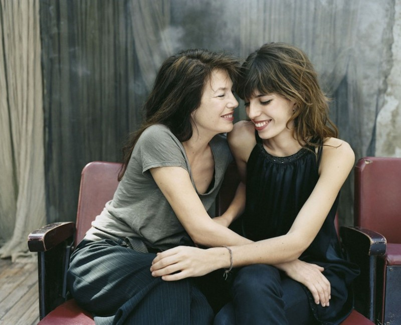 Jane Birkin and Lou Doillon